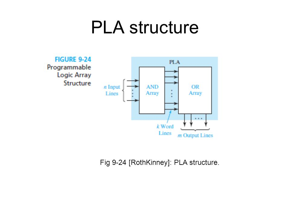 PLA structure Fig 9-24 [RothKinney]: PLA structure.